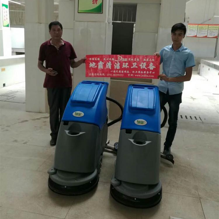 洗地机案例之江西抚州金安农贸市场