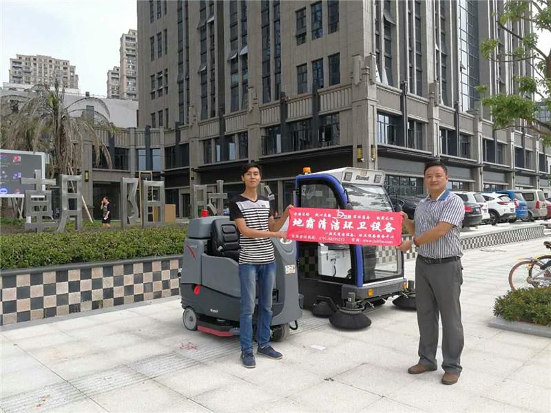 扫地机案例之江西南昌朝阳时代广场