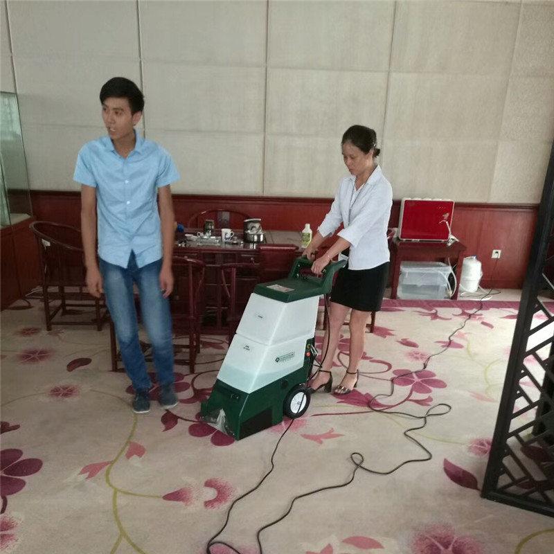 三合一地毯清洗机案例之江西南昌古玩城