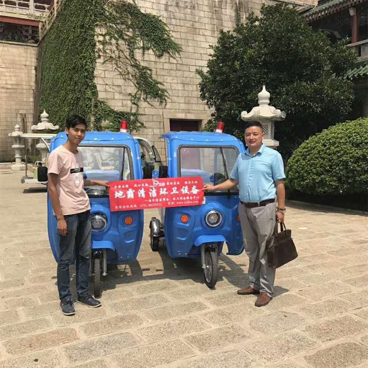 三轮垃圾车案例之江西滕王阁景区